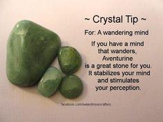 .Crystal Healing for a wandering Mind
