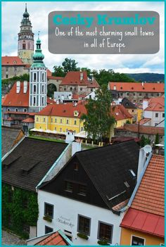 DO NOT MISS a visit to one of the most charming small towns in all of Europe! Visit Cesky Krumlov in the Czech Republic during your next European holiday!