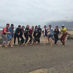 Días muy #divertidos con nuestros #alumnos en la #playa de #Famara #lanzarote .  http://ift.tt/SaUF9M
