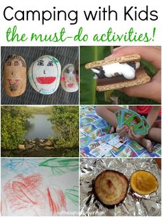 The Best Camping Activities for Kids to Do from Coffee Cups and Crayons #campKOA