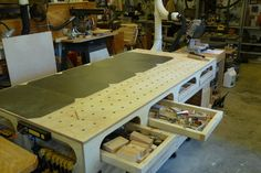 Another Ron Paulk Workbench II