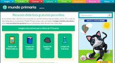 Blog  con recursos TIC para profesores. TIC. Recursos interactivos. Recursos TIC online. Recursos para educación primaria y educación infantil.