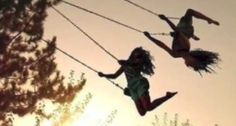 Flying high with your best friend<3