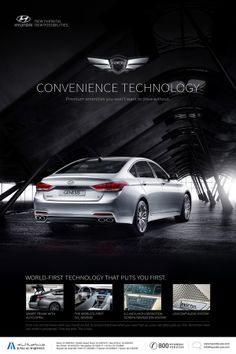 Print Ads for Hyundai Genesis Middle East