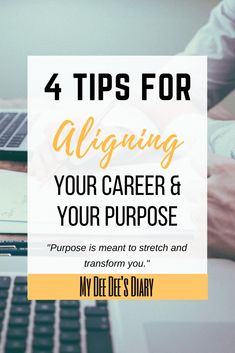 How To Determine A Career That Matches Your Purpose. Do you know if your career aligns with your purpose in life? Your purpose is bigger than you and you should have a purpose driven career to match. Click through to learn if your career path is right for you, along with some great career advice and personal development tips! #careertips #findyourpurpose #personaldevelopment