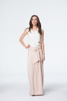Beżowa spódnica maxi Lace Skirt, Skirts, Etsy, Fashion, Moda, Fashion Styles, Skirt, Fashion Illustrations
