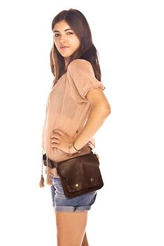 Fiona's leather hip bag from Burn Notice in multiple colors (yes, this is the real deal!).