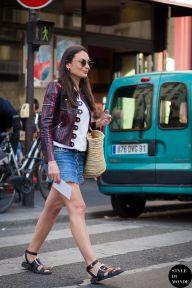 STYLE DU MONDE / Paris Men's Fashion Week Spring 2016 Street Style: Laetitia Paul  // #Fashion, #FashionBlog, #FashionBlogger, #Ootd, #OutfitOfTheDay, #StreetStyle, #Style