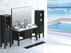 Modern Bathroom Vanity   Campania