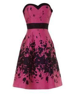 JANE NORMAN  Floral Prom Dress