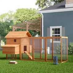 Building A DIY Chicken Coop If you've never had a flock of chickens and are considering it, then you might actually enjoy the process. It can be a lot of fun to raise chickens but good planning ahead of building your chicken coop w Diy Chicken Coop Plans, Portable Chicken Coop, Best Chicken Coop, Chicken Coop Designs, Backyard Chicken Coops, Building A Chicken Coop, Chickens Backyard, Chicken Ideas, Chicken Coop With Run