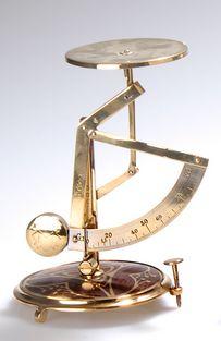 Erhard & Söhne, Desk Scale, c. 1910, 14.5cm H.     SOLD $325 Germany 2009