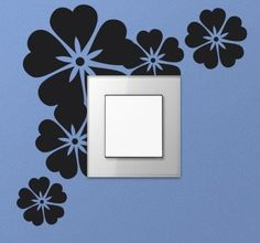Good idea for your switch! #switch #stickers #flower