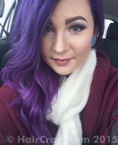 ultra violet manic panic dye - Google Search