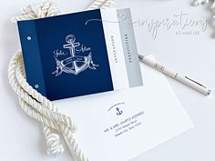 Navy Blue Nautical Wedding invitations for your yacht club or cruise wedding! Mailing Envelopes, Addressing Envelopes, Cruise Wedding, Destination Wedding, Wedding Booklet, Nautical Wedding Invitations, Nautical Design, Yacht Club, Ink Color