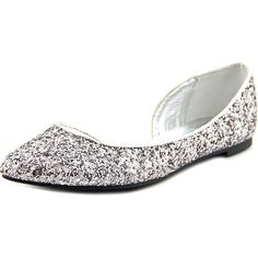 Shop for Material Girl Mizzy Women Pointed Toe Synthetic Silver Flats. Free Shipping on orders over $45 at Overstock.com - Your Online Shoes Outlet Store! Get 5% in rewards with Club O!