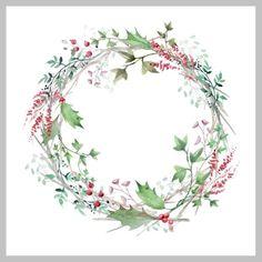 Victoria Nelson - Loose watercolour wreath 1.jpg