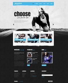 Dance Studio Website Template 43358