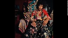 Take this you new bohemian wannabes! (Incl me!): Rock legend Jimi Hendrix poses for a photo for Sunday Times magazine. Famed photographer Terence Donovan shot this in August 1967, and it';s just one of the many iconic images from his latest book,