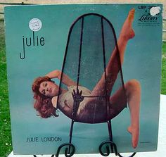 Julie London JULIE 1957 Original LP Sexy Cheesecake Cover Jazz Vocal