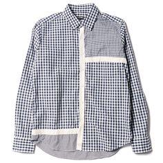 Gingham Mondrian L/S Shirt