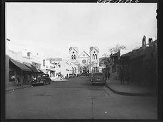 Santa Fe, New Mexico. Catholic catherdal, 1943