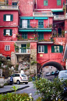 apartment building in Amalfi