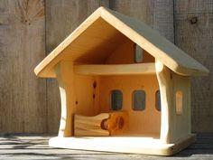 Small Wooden Barn. $75.00, via Etsy.