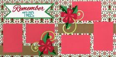 Remember This 0720   Out On A Limb Scrapbooking Scrapbooking Layouts, Scrapbook Pages, Precious Moments, Holiday Decor, Ios, Scrapbook Layouts, Smash Book Pages, Scrapbook Page Layouts