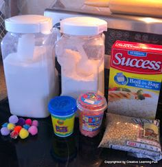 make sensory balloons for a calm down box using things from home!