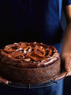 chocolate and maple banana cake from donna hay magazine issue #88 fast issue