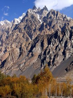 Trekkers paradise - Hunza Valley in northern Pakistan