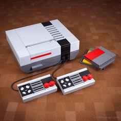 Moderne gadgets van vroeger nagemaakt met LEGO