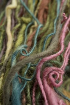 I am crazy-proud of this yarn. About a dozen different natural dyes used and nearly as many locally produced fibers.