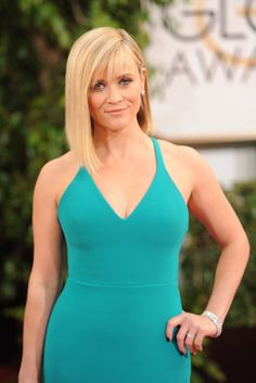 Reese Witherspoon in Calvin Klein [Photo by Tyler Boye]