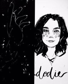 This is so cute Freckles And Constellations, Dodie Clark, Love Doodles, Pretty Art, Cute Illustration, Cute Wallpapers, Art Boards, Jon Cozart, Art Drawings
