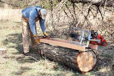 Mill Your Own Lumber