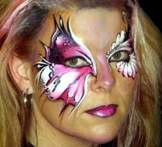 Lynne Jamieson butterfly face painting