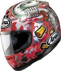 "Arai Helmets. Tommy ""Gun"" Hayden"