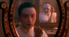 Leslie Cheung as Cheng Dieyi in the film 'Farewell my concubine'