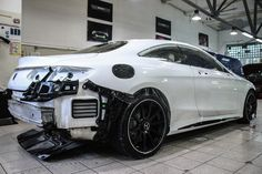 Mercedes S500 AMG-Style in Hexis Bodyfence protection full wrap
