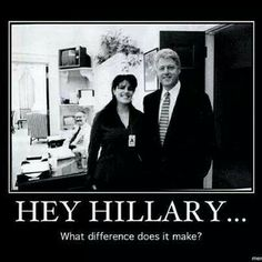 "Bill and Hillary lie about everything..it's what they do.  Remember when Bill said, ""I did not have sexual relations with THAT woman!""?  DNA on the infamous Monica Lewinsky dress tore that lie apart.  Corrupt and without any integrity..both of them.  They deserve each other.  Pathetic. Looking at the current body count, Ms. Lewinsky is lucky to be alive today."