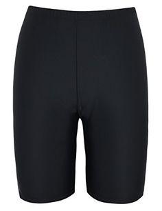 cb34510636 Mycoco Women's Swim Shorts Long Bike UPF 50+ Swim Bottom Board Shorts Rash  Guard #