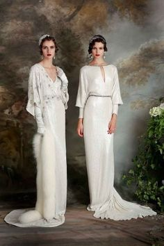 Lily and Agatha // http://www.elizajanehowell.com/collection/debutante-2