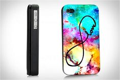 Infinity Love  Hard Case for iPhone 4/4s iPhone 5 by BeachPrint, $15.00