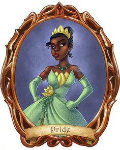 7 Disney Sins: Pride - disney-princess Fan Art
