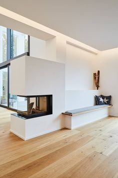 EFH in Bornheim: moderne Wohnzimmer von Philip Kistner Fotografie