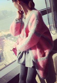 08084215db 2018 New genuine mink cashmere sweater women pure cashmere sweater cardigan  brand mink sweater