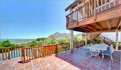 Self Catering accommodation, Noordhoek, Cape Town Outside patio and deck - perfect for entertaining! Cape Dutch, Outside Patio, Fishing Villages, Cape Town, Catering, Pergola, Deck, Outdoor Structures, Balcony