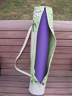 Yoga Mat Bag PDF Sewing Pattern | Meylah